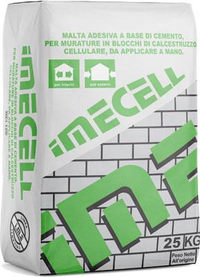 IMECELL malta adesiva prodotta da ime distribuito da cime srl COMMERCIO INDUSTRIA MATERIALI EDILI napoli e provincia ed in italia