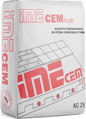 IMECEM Fluid massetto fibrorinforzato  prodotto da ime distribuito da cime srl COMMERCIO INDUSTRIA MATERIALI EDILI napoli e provincia ed in italia