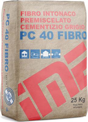 PC40 Fibro intonaco  prodotto da ime distribuito da cime srl COMMERCIO INDUSTRIA MATERIALI EDILI napoli e provincia ed in italia