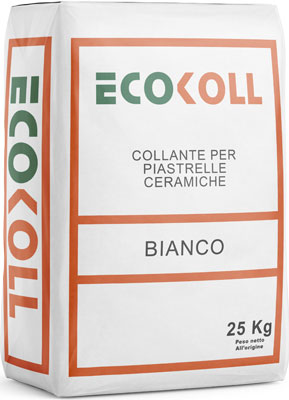 ECOKOLL collante adesivo per piastrelle prodotto da ime distribuito da cime srl COMMERCIO INDUSTRIA MATERIALI EDILI napoli e provincia ed in italia