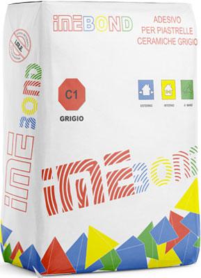 IMEBOND Grigio adesivo per piastrelle prodotto da ime distribuito da cime srl COMMERCIO INDUSTRIA MATERIALI EDILI napoli e provincia ed in italia