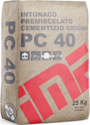 PC40 GRIGIO intonaco CEMENTIZIO prodotto da ime distribuito da cime srl COMMERCIO INDUSTRIA MATERIALI EDILI napoli e provincia ed in italia