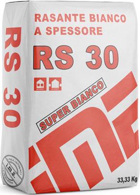 RS30 rasante bianco prodotto da ime distribuito da cime srl COMMERCIO INDUSTRIA MATERIALI EDILI napoli e provincia ed in italia