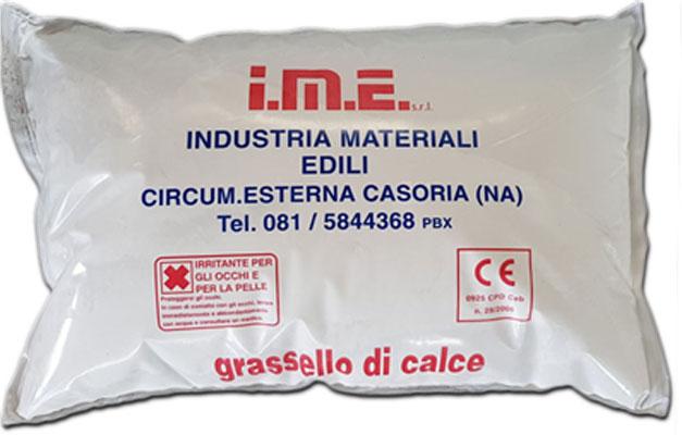 Grassello di calce ime prodotto da ime distribuito da cime srl COMMERCIO INDUSTRIA MATERIALI EDILI napoli e provincia ed in italia