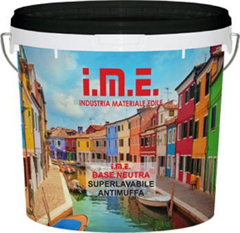 pittura  IME BASE NEUTRA prodotto da ime distribuito da cime srl COMMERCIO INDUSTRIA MATERIALI EDILI napoli e provincia ed in italia