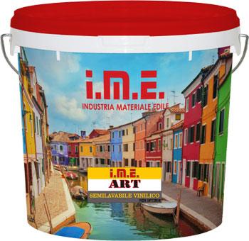 pittura  IME-ART prodotto da ime distribuito da cime srl COMMERCIO INDUSTRIA MATERIALI EDILI napoli e provincia ed in italia
