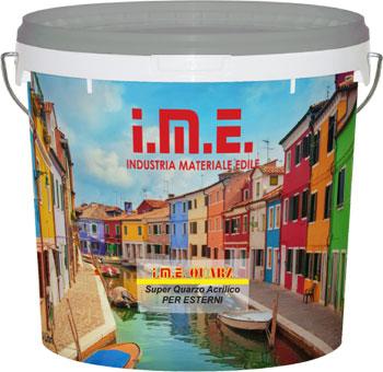 pittura IME-QUARZ prodotto da ime distribuito da cime srl COMMERCIO INDUSTRIA MATERIALI EDILI napoli e provincia ed in italia