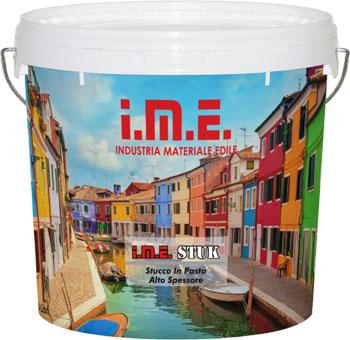 pittura IME-STUCK prodotto da ime distribuito da cime srl COMMERCIO INDUSTRIA MATERIALI EDILI napoli e provincia ed in italia