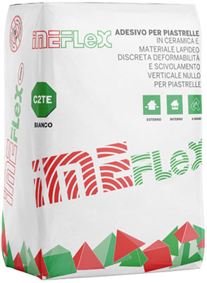 IMEFLEX bianco è un adesivo per piastrelle ceramiche prodotto da ime distribuito da cime srl COMMERCIO INDUSTRIA MATERIALI EDILI napoli e provincia ed in italia