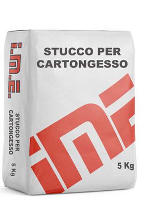 Stucco PER CARTONGESSO 5 Kg prodotto da ime distribuito da cime srl COMMERCIO INDUSTRIA MATERIALI EDILI napoli e provincia ed in italia