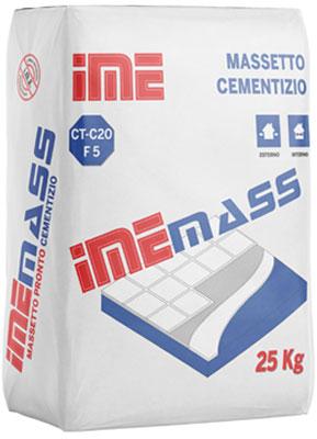 IMEMASS è una malta premiscelata prodotto da ime distribuito da cime srl COMMERCIO INDUSTRIA MATERIALI EDILI napoli e provincia ed in italia